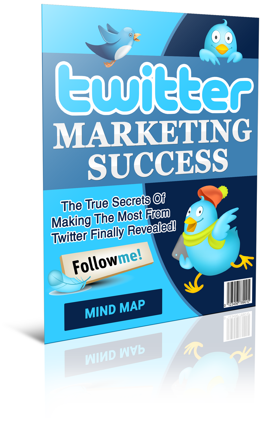 Twitter Marketing Success Mindmap